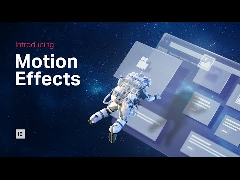 Elementor Pro & Parallax Motion Effects (Now Easier Than