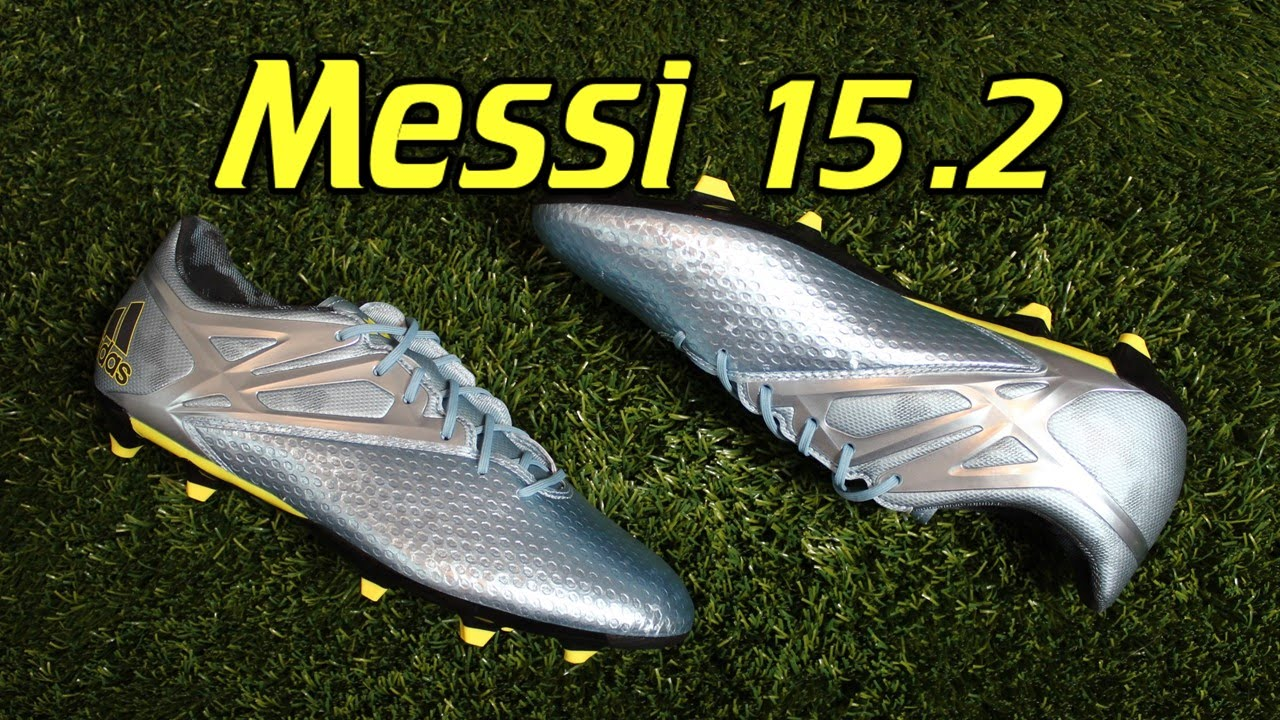factory authentic f80a2 147de Adidas Messi 15.2 - Review + On Feet - YouTube