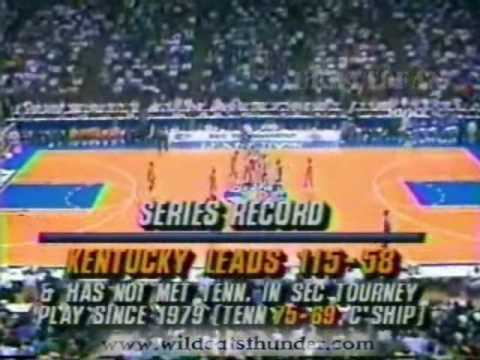 Kentucky Wildcats vs Tennessee Volunteers (1993 SEC-T)