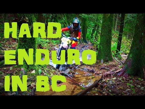 Episode 3 Life of a Dirt Biker - Hard Enduro on the coast of BC