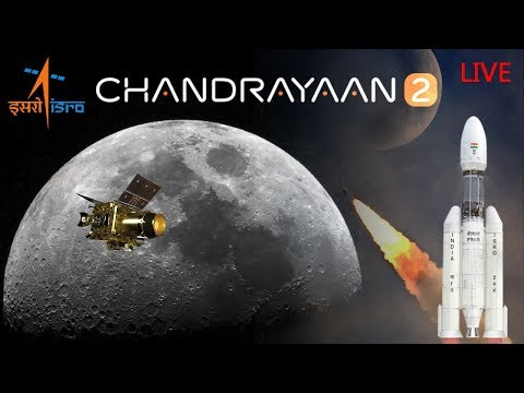 LIVE: Launch of Chandrayaan-2 Mission/GSLV Mk-III-M1