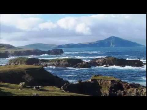 Stormy day between Achill and Clare Island