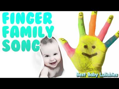 Finger Family Song Baby Lullaby Songs To Put A Baby To Sleep Lyrics-Baby Music Lullaby Lullabies