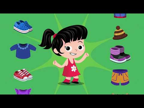 Seasons and Clothes Song | Songs for Kids | Kidloom