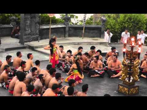 Kecak Dance, Bali - Tale of RAMAYANA - Entry of Hanuman