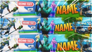 [GRATUIT] BANNER TEMPLATE FORTNITE GHOUL TROOPER DESIGN !!!