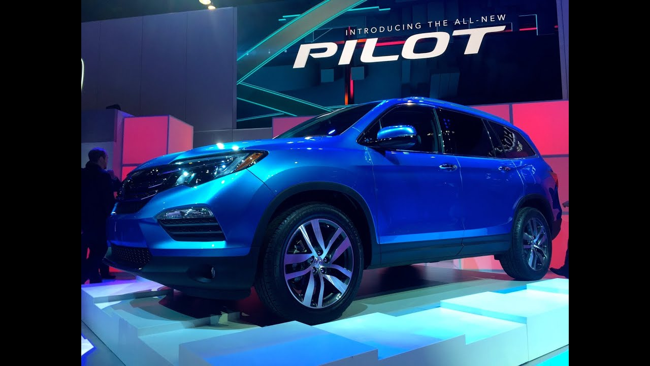 2016 Honda Pilot Walk Around 1st Look Amp Car Review Youtube