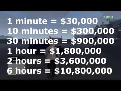 GTA 5 $1,800,000 PER HOUR *SOLO* AFK MONEY GLITCH!!!