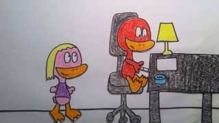 lauren bacall tribute by waddle and quacky