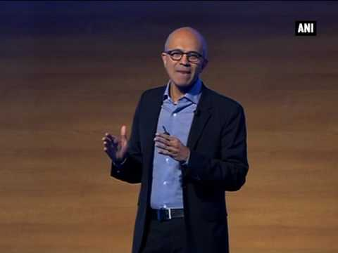 Microsoft Future Decoded': Satya Nadella launches Skype Lite, Skype to support Aadhar identity