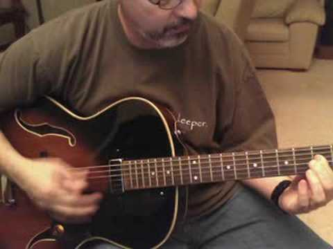Washburn HB15 Hollowbody Jazz Guitar