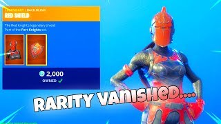 RED KNIGHT RETURNS once Again...(New Item Shop) Fortnite Battle Royale