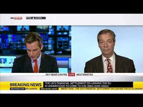 Nigel Farage Slams the Phoney Brexit Deal