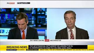 Nigel Farage Slams the Phoney Brexit Deal
