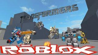 Transformers: Movie Trilogy в РОБЛОКС! Битва ТРАНСФОРМЕРОВ! Детское видео Игра как Мультик