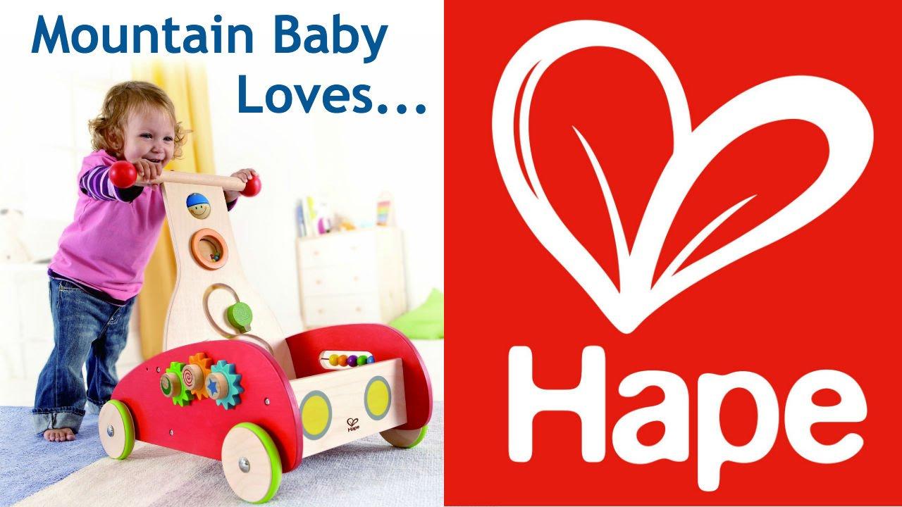 Mountain Baby Loves Hape Toys Youtube