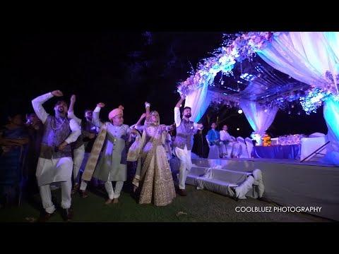 Surprise Bride Entry   Tenu Leke   Destination Wedding Thailand
