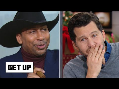 Stephen A. calls Will Cain a 'pathetic Cowboys fan and silences him for defending Dallas | Get Up