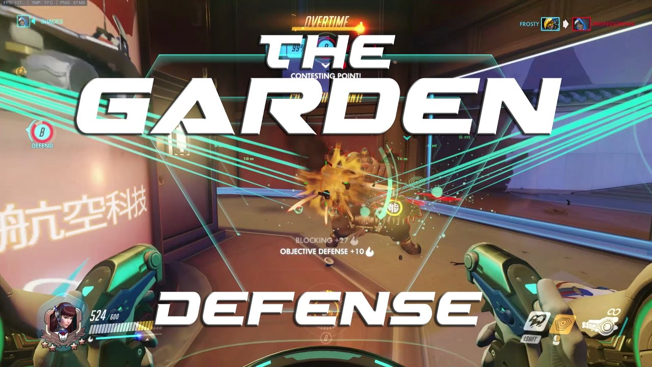 Overwatch The Garden Defense YouTube