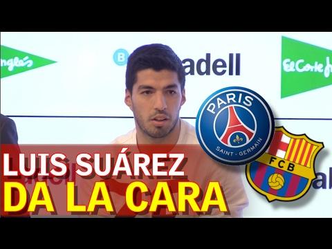 """Luis Suárez: """"Para entrar en le historia hay que remontar"""""""