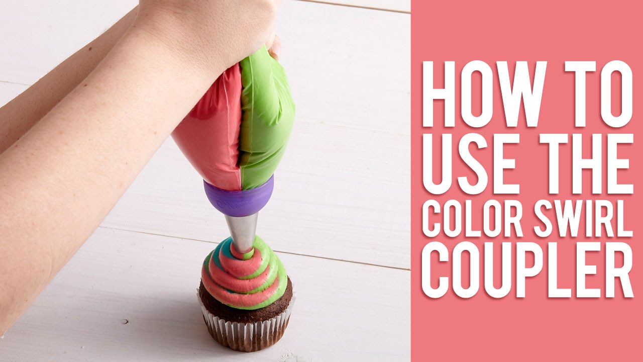 Learn How To Pipe 3-Color Icing Swirls | NEW 3-Color Coupler ...