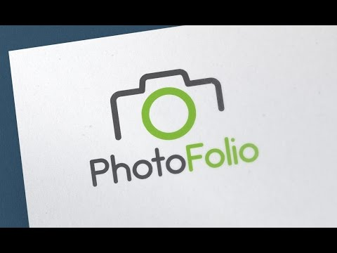 Simple Photography Logo design - Adobe Illustrator CC