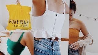 BiG aSs FOREVER 21 HAUL (SUMMER 2018) !