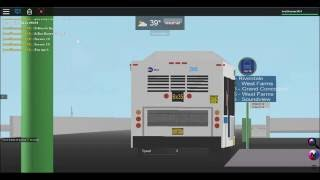 (Roblox) MTA NYCT Bus: 2011 C40LF New Flyers #266 On the Bx35