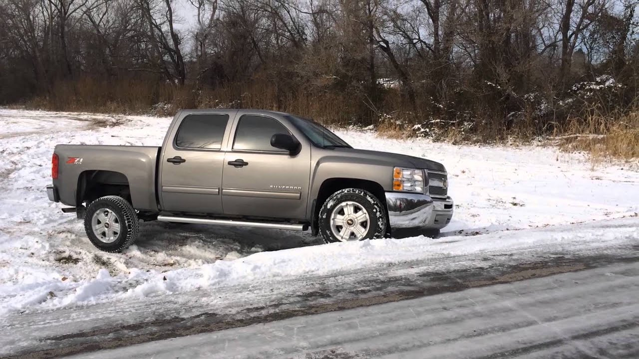 2013 Silverado Off Road Snow Youtube