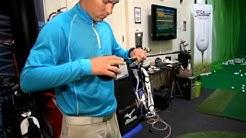 Fittauksella juniorille uudet mailat Golf Balancessa
