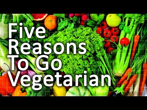 Five Reasons to go Vegetarian