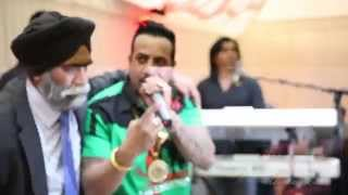 Sikh Asian wedding photography videography Leicester Jazzy B performance unedited