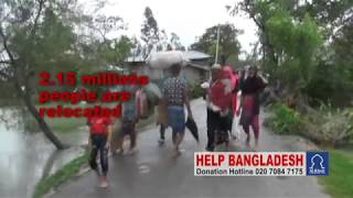 Al Khair Foundation Help Bangladesh Cyclone ROANU victims