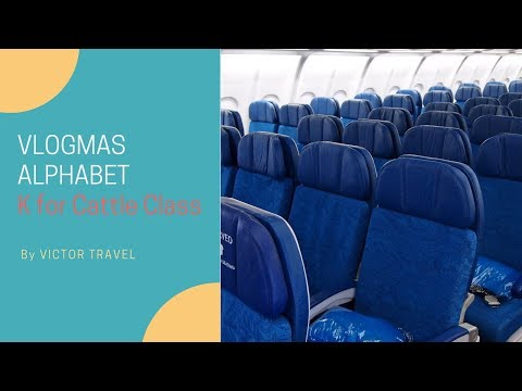ABC Vlogmas: (K) Cattle Class | Speak Airline | Victor Trave