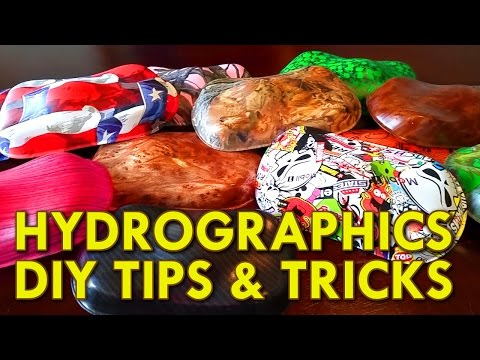 Hydrographics Tips and Tricks - Dip Kit Store