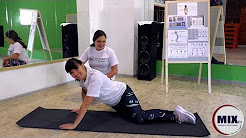 A quick way to remove back pain exercises at home. The fitness Studio MIXfit in Balashov