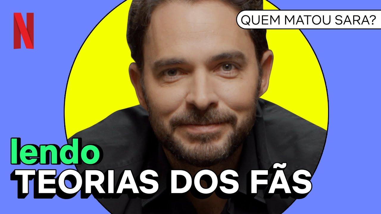 Manolo Cardona lê teorias sobre Quem Matou Sara   Netflix Brasil
