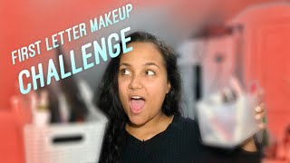 Nikkie Tutorials First Letter Makeup Challenge | This was so easy