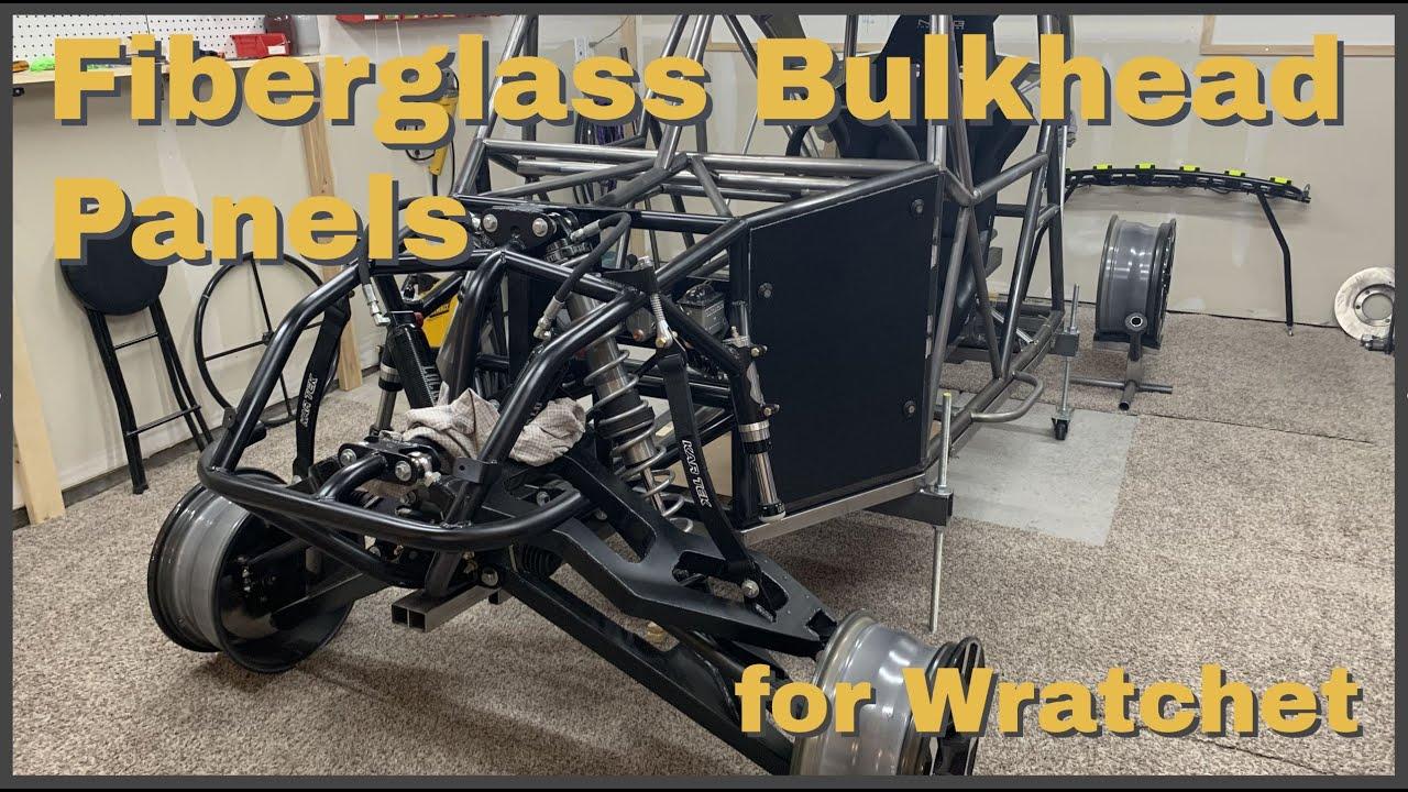 Making Fiberglass Bulkhead Panels for Wratchet.
