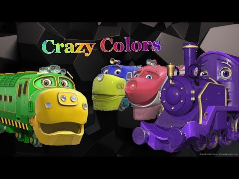 Chuggington Engines Changing Colors!