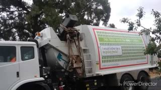 EPIC GARBAGE TRUCK FAIL!!!