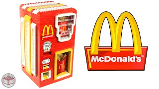 LEGO McDonald's French Fries Machine(Please support my M&M's Candy Dispenser in hopes of becoming an official set: http://www.legomm.com/ It's about time the