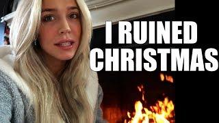 I Ruined My Family Christmas .