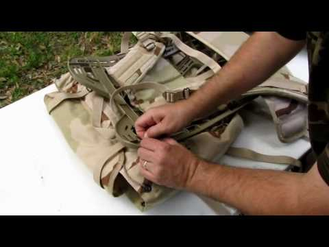 Survival Gear - How to assemble a MOLLE pack
