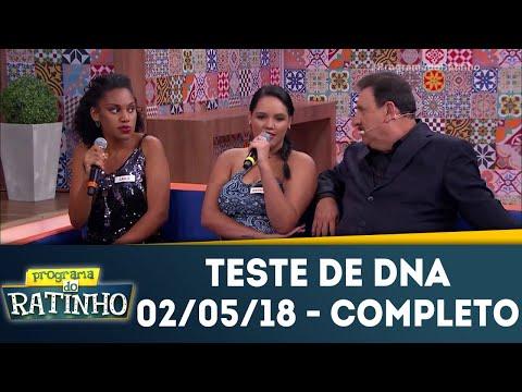 Teste De DNA - Completo | Programa Do Ratinho (02/05/18)