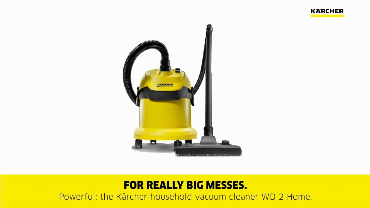 karcher wd 2 vacuum youtube. Black Bedroom Furniture Sets. Home Design Ideas