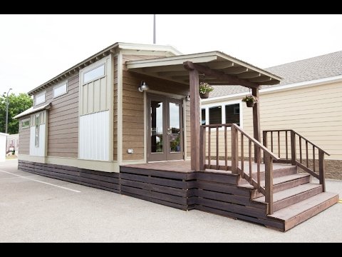 Park Model Homes Living Big In A Tiny Home Call 888-222-2699 - Youtube