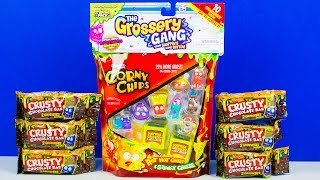 NEW The Grossery Gang Surprise Toys Unboxing The Trash Pack Shopkins for Boys Kinder Playtime