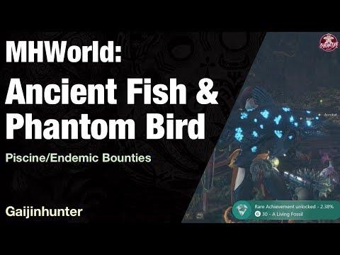 Monster Hunter World: Ancient Fish & Phantom Bird
