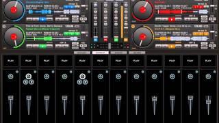 como mezclar en el virtual dj 7 4 platos dj juan